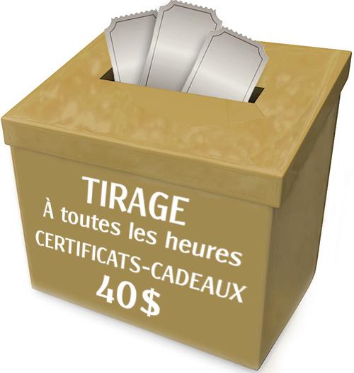 Certificat-cadeaux